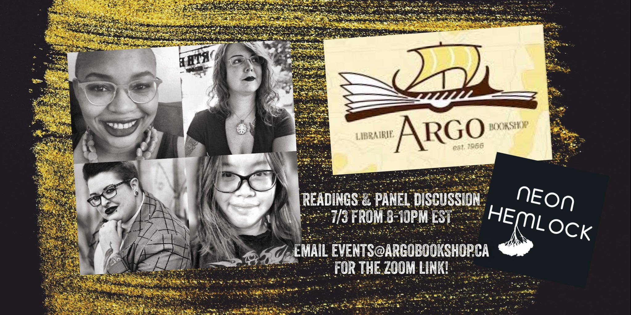 Argo Bookstore Reading Image